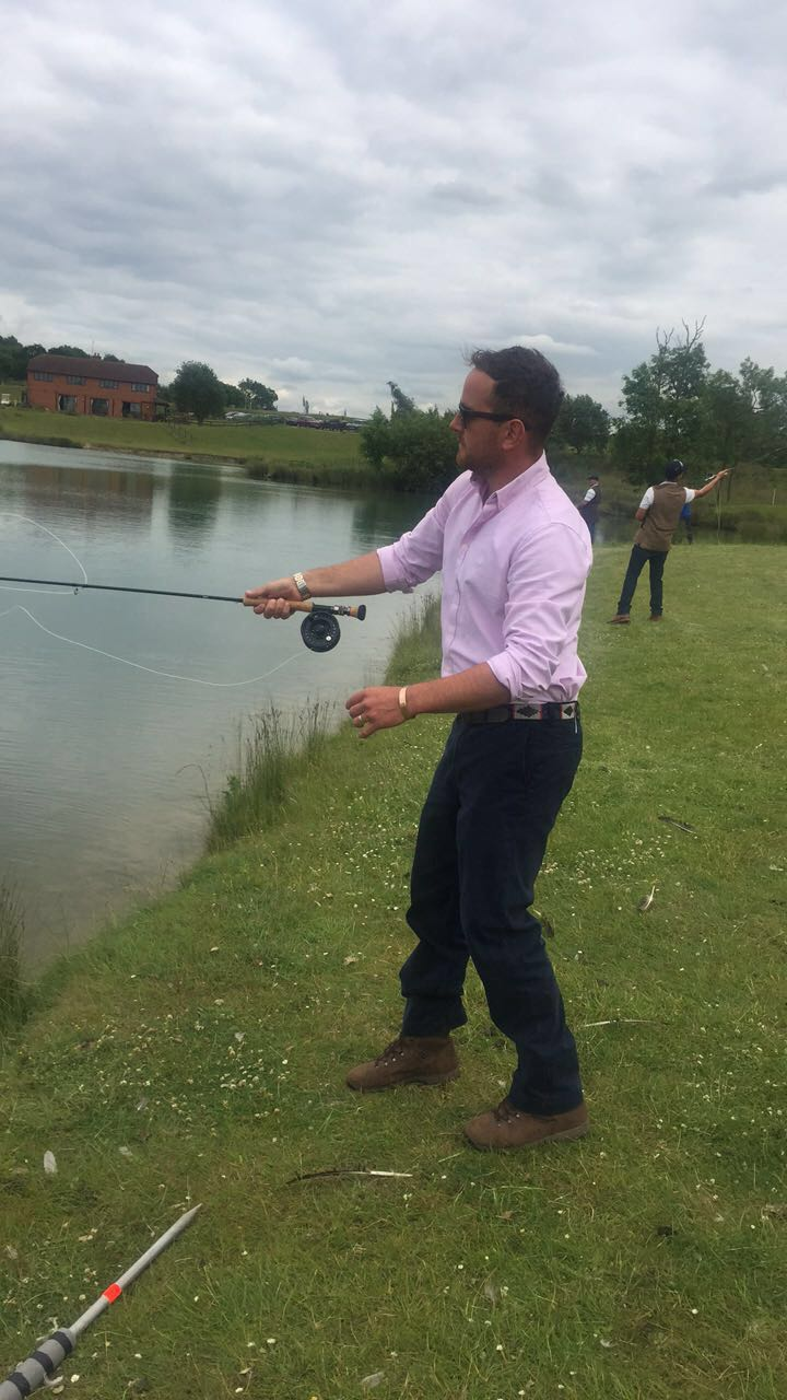 Celeb Charity Day Fishing