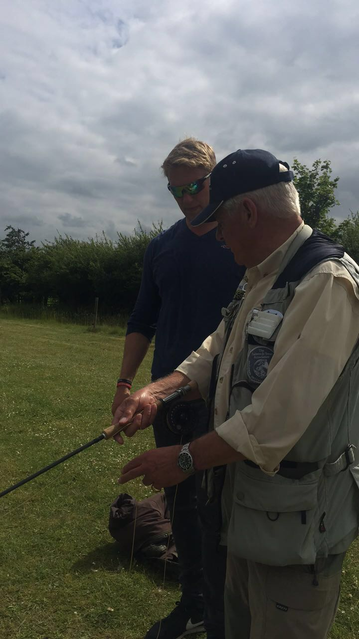 Lewis Moody Fishing - Celeb Charity Day